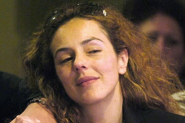 Rocio Carrasco, the daughter of Spanish
