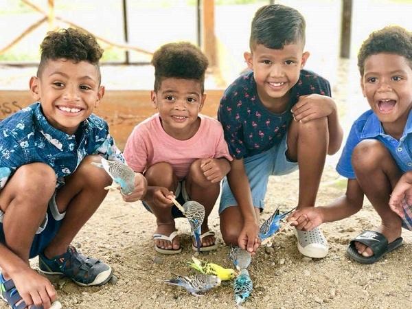 24 Padres EEUU Niños Brasil 14