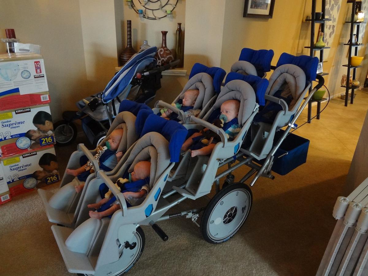 6 seater stroller perkins