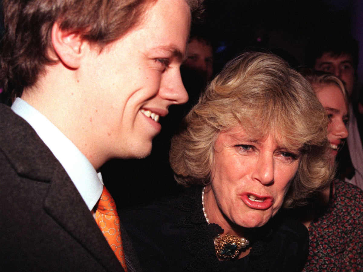 Library filer dated 9/12/98 of Camilla Parker-Bowles and her son, Tom.