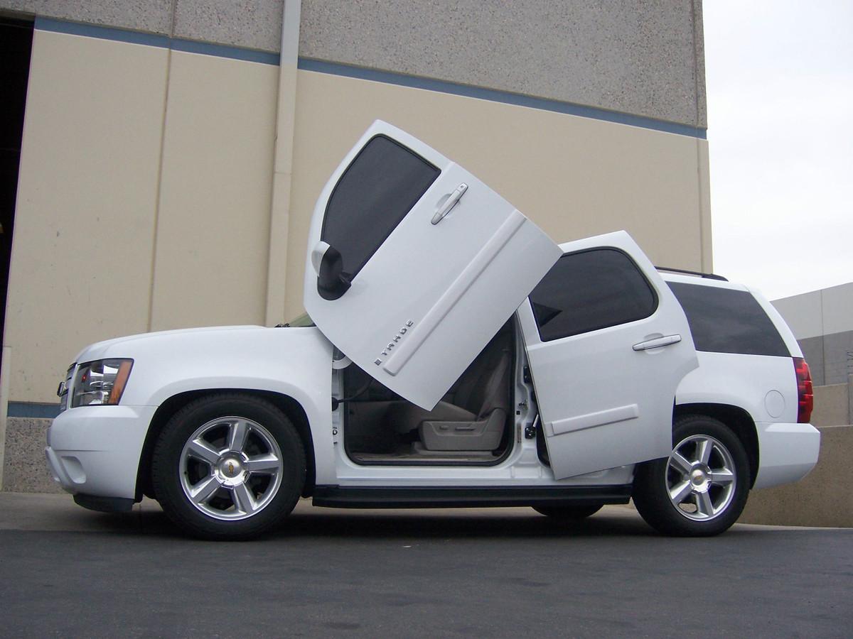 Tahoe lambo doors terrible car trends