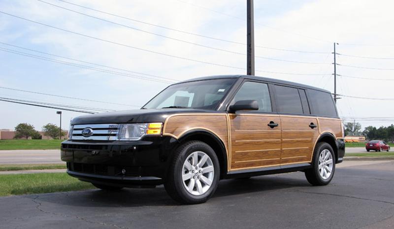 fake wood paneling bad car trends