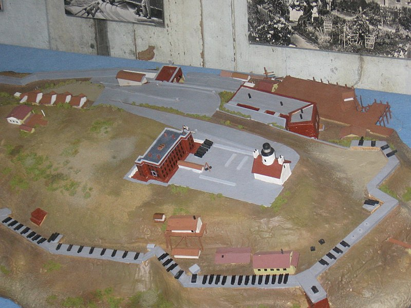 the design of fort alcatraz