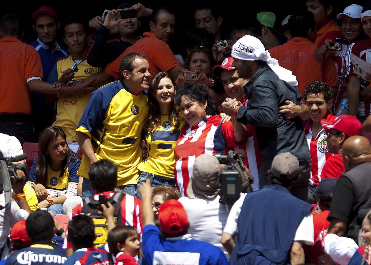 Chivas v America - Clausura Tournament 2011