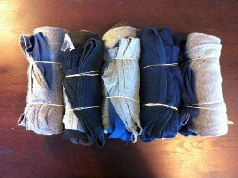 Tightly Wrap Your Clothing For More Suitcase Space