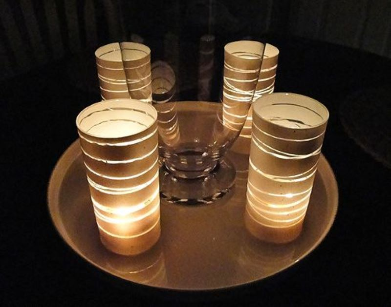 DIY Tea Candle Holder To Set The Right Mood