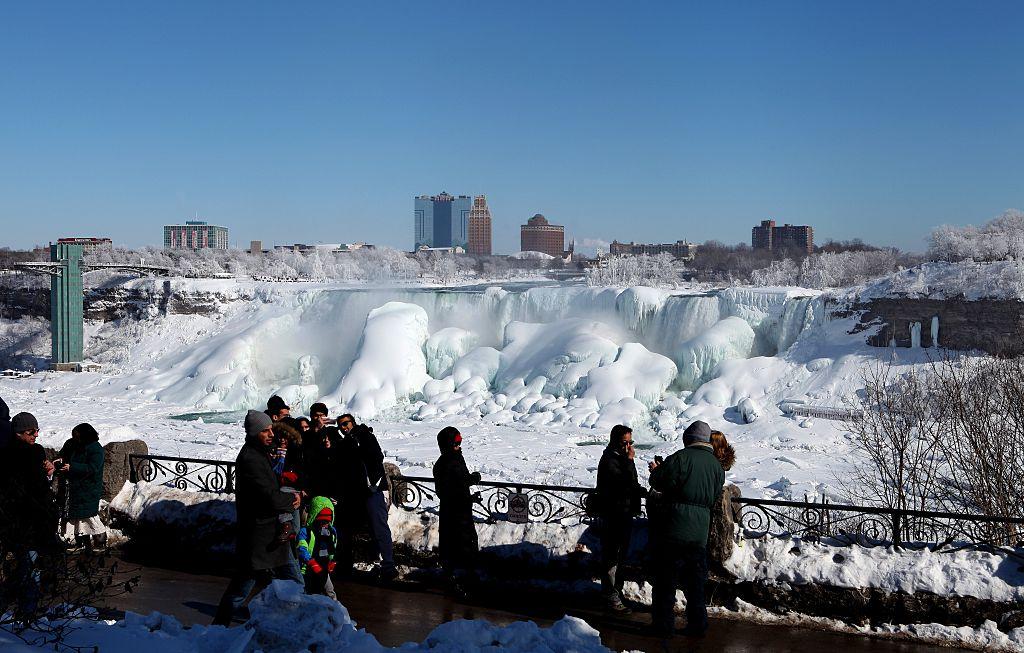 Niagara in the winter