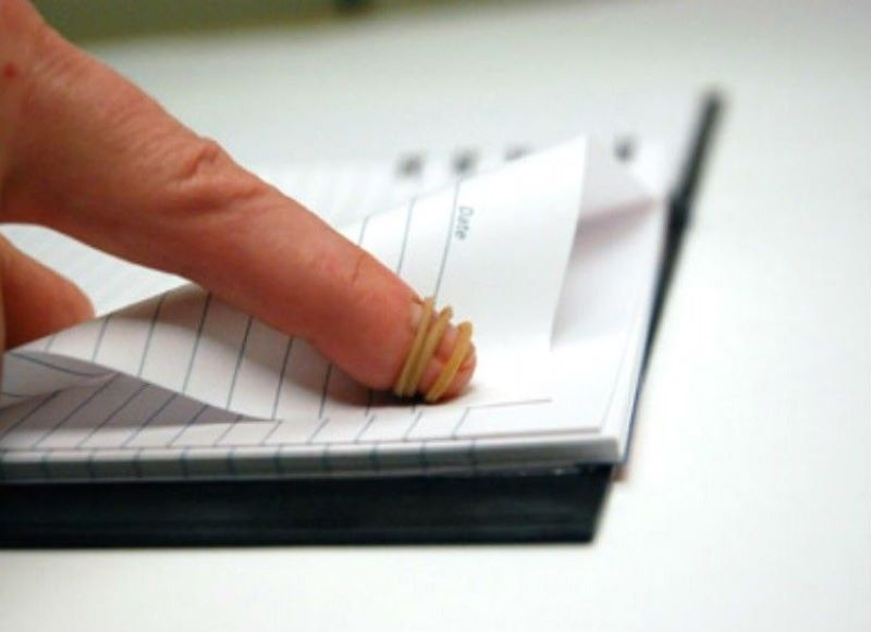 Wrap One Around Your Finger To Easily Flip Pages