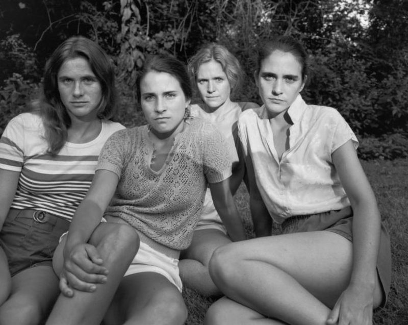 brown sisters 1981four