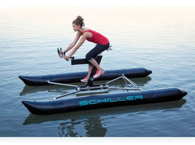The Schiller Water Bike Is A Fitness Fanatics Dream Boat