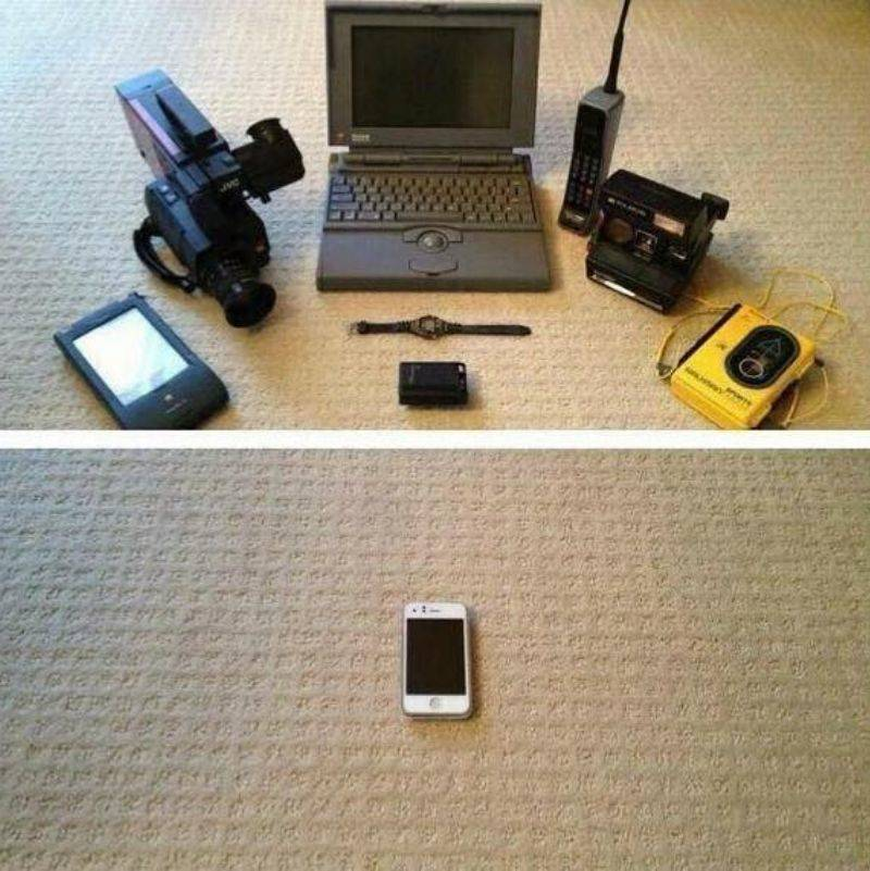 how much technology has changed over the years
