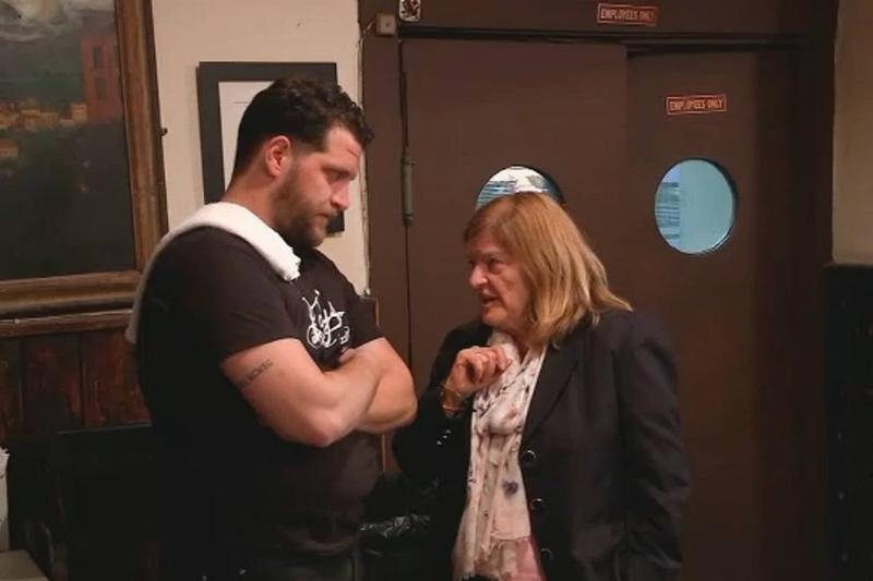 Vinacour and Markaj reunite as Vinacour receives her check.