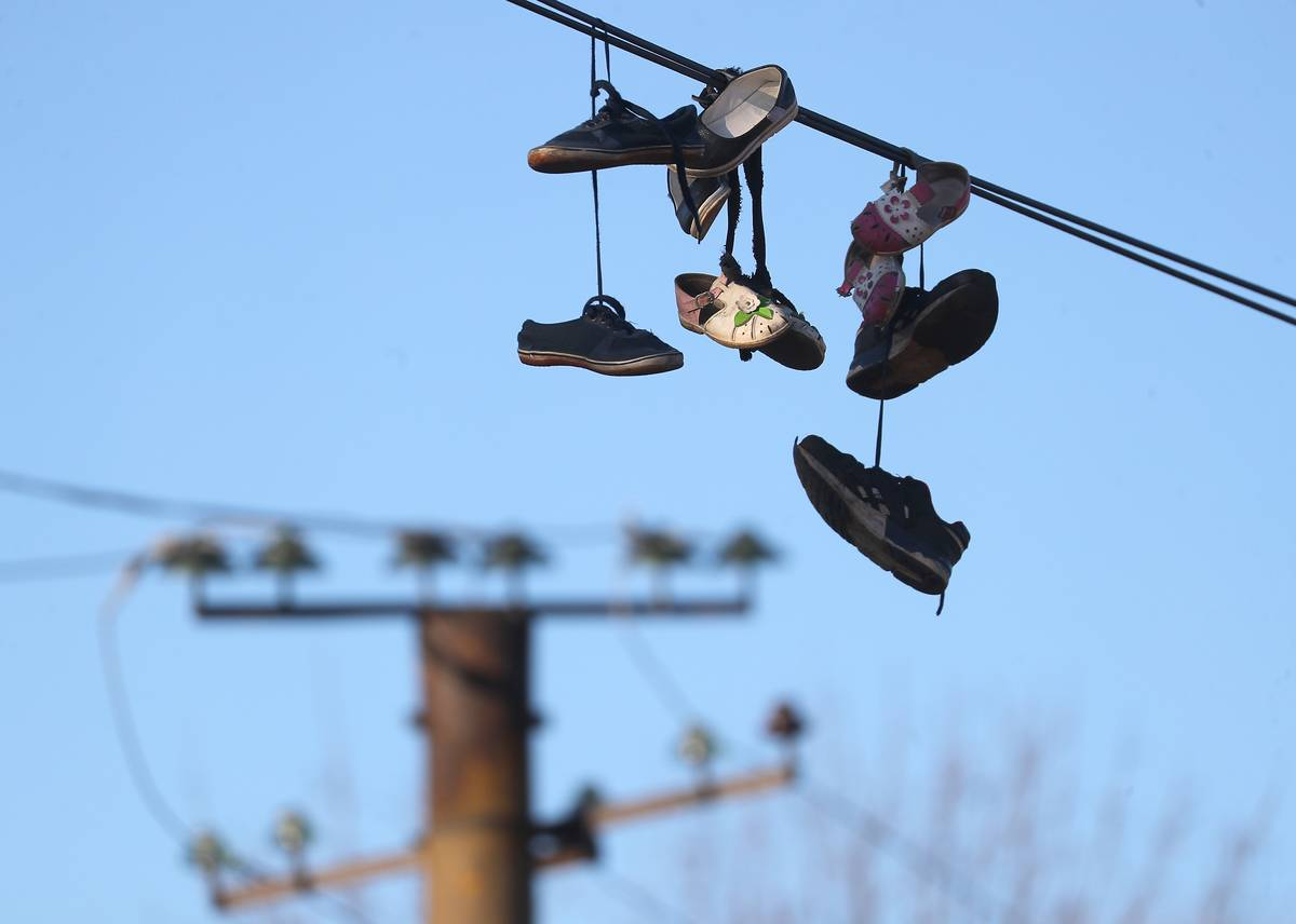 Shoes Also Make Their Way Onto Cable Lines