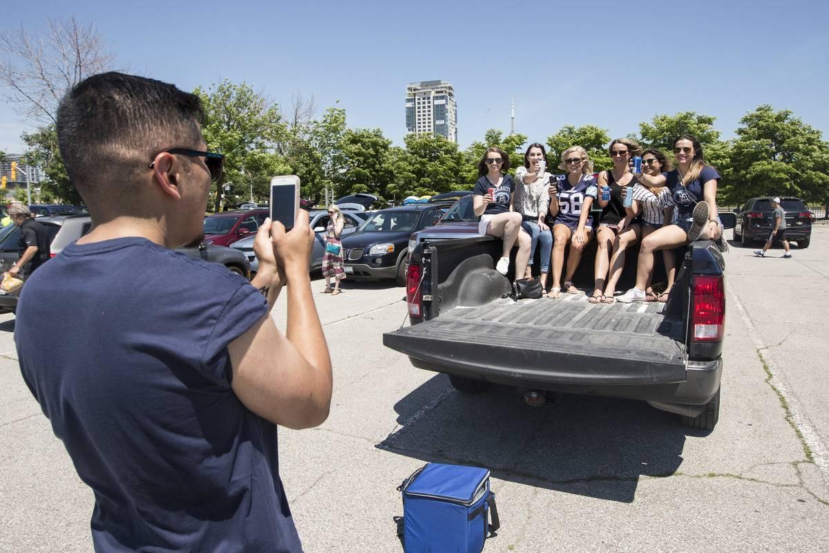 First Toronto Argonaut Tailgate Party