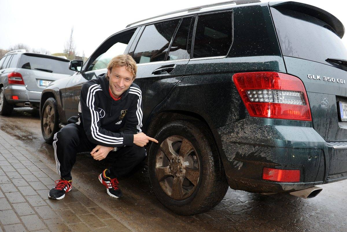 German National Team Visit Mercedes-Benz Factory And Offroad Track