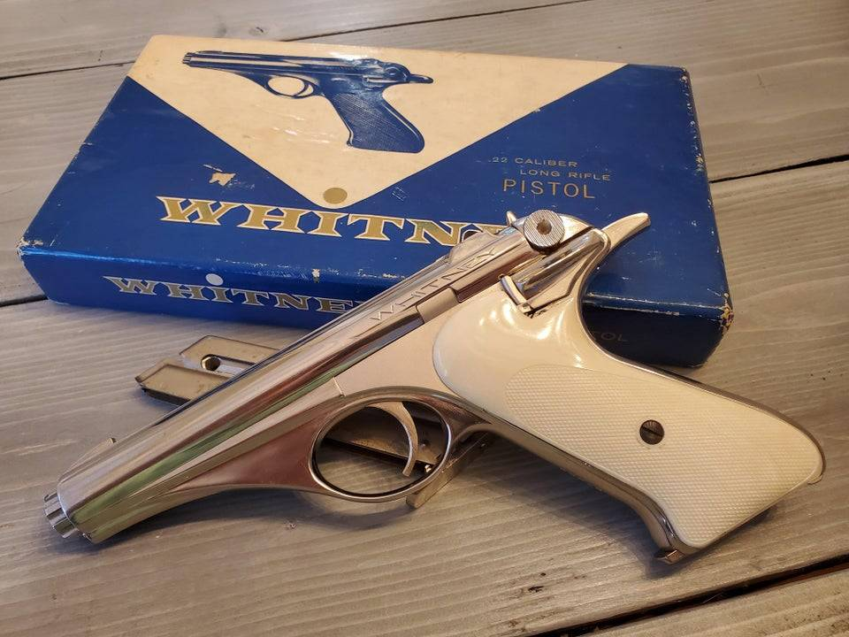 1950s pistol influenced by the