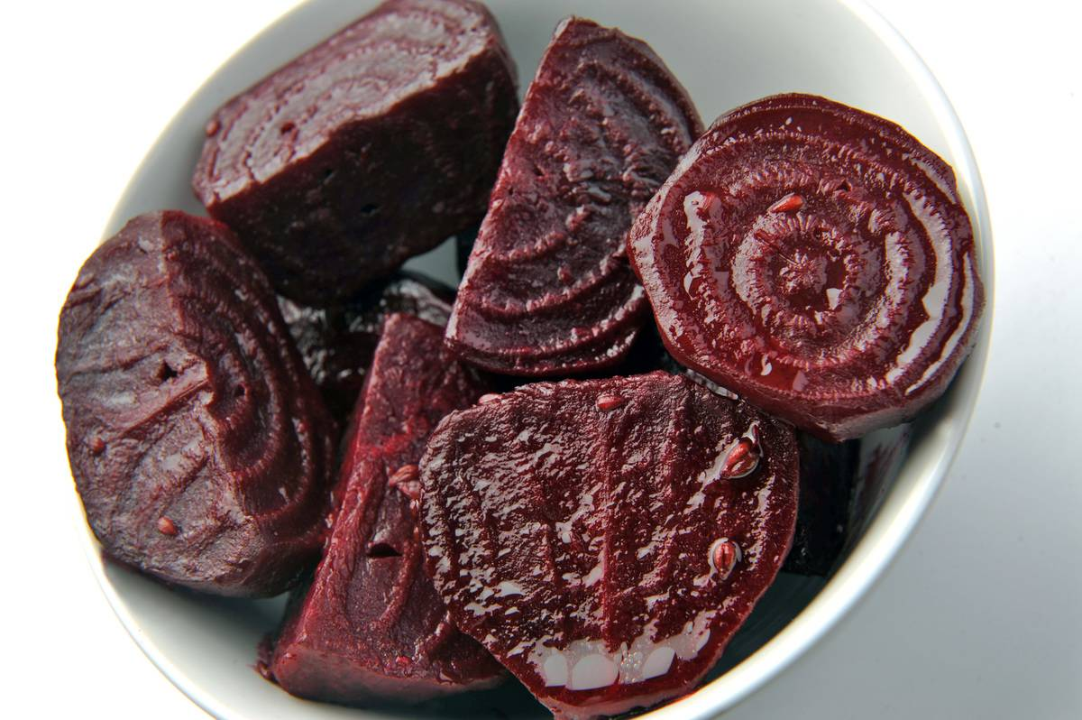 Roasted beets with anise, Cinnamon and orange juice